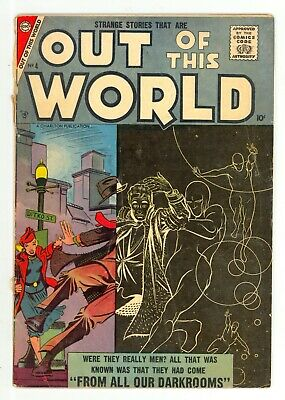 Charlton Comics Out of This World #4 Ditko Cover & Art Good (2.0) Cover Detached