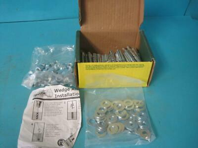 "Box Of 50 Dottie W38234 Wedge Anchor 3/8"" X 2-34"" Long  Drill Diameter 3/8"" Ansi"