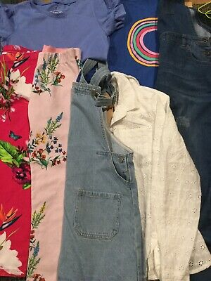 bundle of girls clothes gap,ted baker,next,zara age 7,8,9 yrs