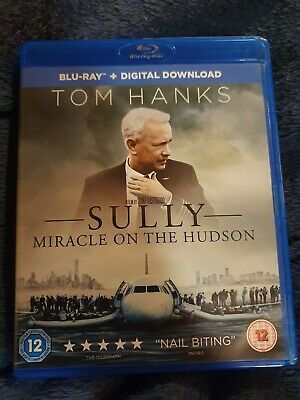 Sully Miracle on the Hudson - Tom Hanks - Blu Ray