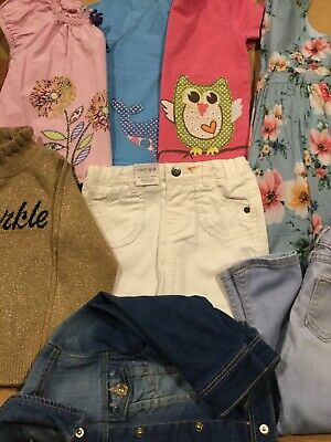 bundle of girls clothes, next,boden,river island,zara, m and s age 2-3 yrs vgc