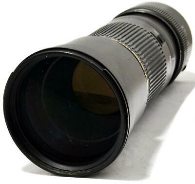 TAMRON 200-500mm f/5-6.3 SP Di LD (IF) AF/MF TELEPHOTO ZOOM LENS FOR CANON EOS