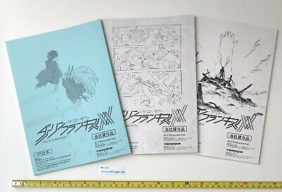 DARLING IN THE FRANXX Japanese script book episode 13 to 15 set from japan anime
