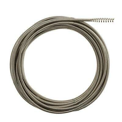 Milwaukee Drain Cleaner Cable 1/4 Inch x 25 ft Inner Core Bulb Head Rustguard
