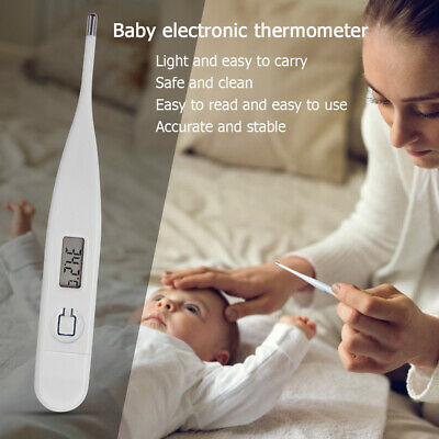 Mouth Thermometer LCD Digital Baby For Kids Adults Fever Health Body Temperater#