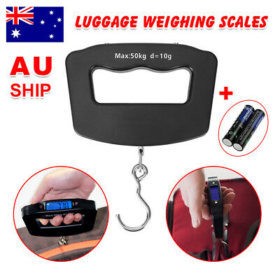 Electronic Luggage Scales Digital Luggage Scales Baggage Scales Travel 50 KG 10G