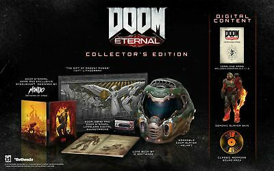 Doom Eternal Collector's Edition PS4 New Sealed