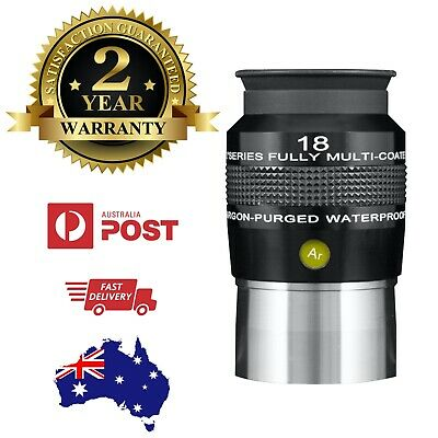 "Explore Scientific 2"" 82-deg Series Argon-Purged Waterproof Eyepiece - 18mm"