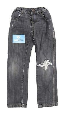 Marks & Spencer Boys Black Jeans Age 6-7