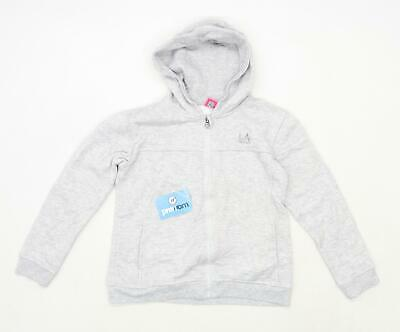 LA Gear Girls Grey Hoodie Age 13