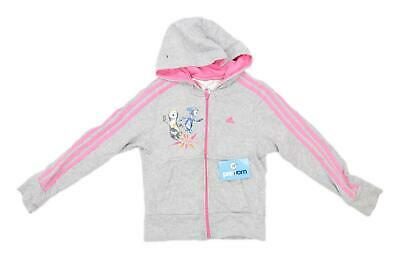 Adidas Girls Grey London 2012 Olympics Hoodie Age 9-10