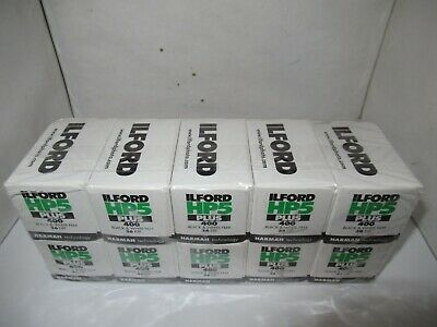 Ilford Hp5 Plus 400 - 10 Pack Sealed - B/W Film - Expiration April 2022