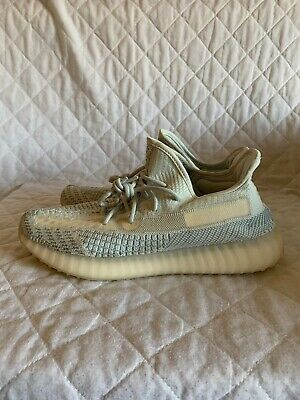 ADIDAS Yeezy Boost 350 V2 Cloud White Trainers FW3043 Size UK 10