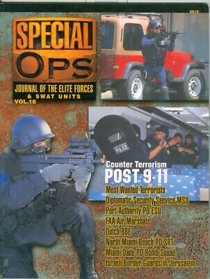 Concord-Journal Elite Forces-Special Ops-SWAT-IDF Border Guards-5518-Vol 18!