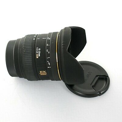 Sigma 10-20mm f/4-5.6D EX DC Lens for Sony A