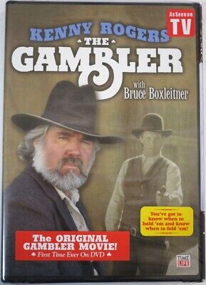 DVD The Gambler 25th Anniversary Edition Kenny Rogers NEW SEALED