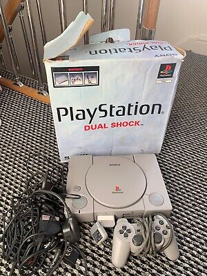 House Clearance Attic Find Classic Retro Sony Playstation 1 Boxed Games console