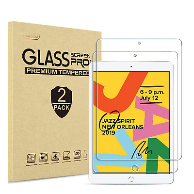 2 Pack Tempered Glass Screen Protector for Apple iPad Mini 1 2 3 (Not Mini 4)