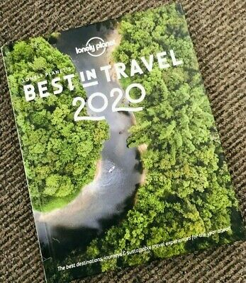 New & Unread - Lonely Planet - Best in Travel 2020 Hard Back Book    Hardback