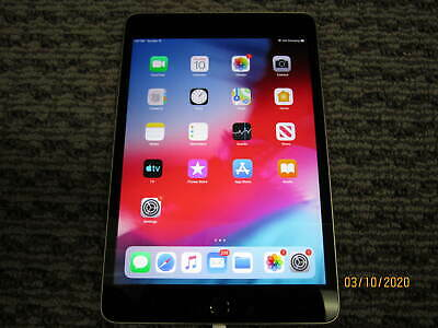 Apple iPad mini 4 128GB, Wi-Fi, 7.9in - Space Gray RL0310-7