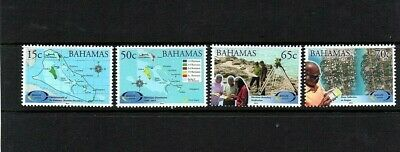 2014 Bahamas National Geographic Information Systems Set Unmounted Mint