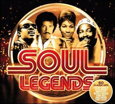 SOUL MUSIC * 60 CLASSIC SOUL & MOTOWN HITS * New 3-CD Boxset * All Original Hits