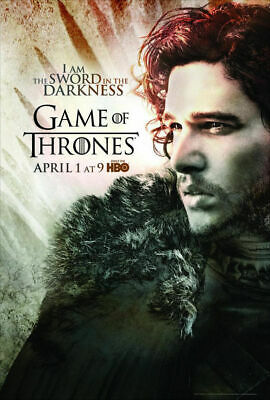 GAME OF THRONES TV Show PHOTO Print POSTER Series Art Crown Fire Season Toy 005