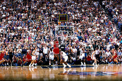 155709 Michael Jordan Utah last shot Basketball Star Decor Wall Print Poster UK