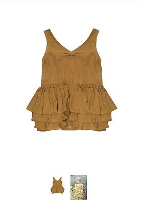 Bella And Lace Nelly Suit Honey Size 3-4 EUC