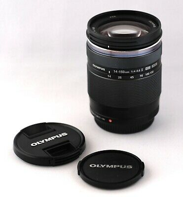 Olympus M.Zuiko ED 14-150mm f/4-5.6 II with caps  SUPERB Mint Condition