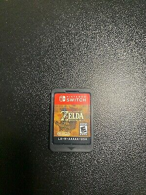 The Legend of Zelda: Breath of the Wild (Nintendo Switch, 2017) (Game Only)