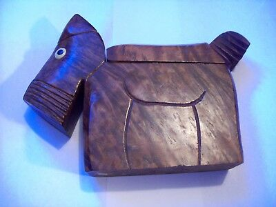 Vintage Hand Crafted Tobacco & Pipe Holder Made In France