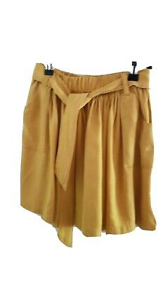 Country road girls skirt Size 8 Good Condition mustard