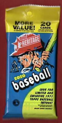 2020 Topps Heritage Auto/ROA Hot Pack Alvarez/Lux/Bichette/Aaron/Trout?Ryan?Red?