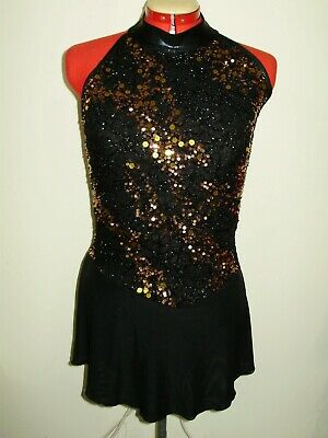 Ice/Roller skating DANCE COSTUME LADIES LARGE NEW