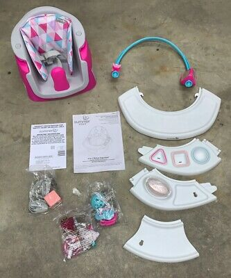 Summer Infant 4-in-1 Deluxe SuperSeat! Pink! 4 Mon - 4 Years! Open Box New
