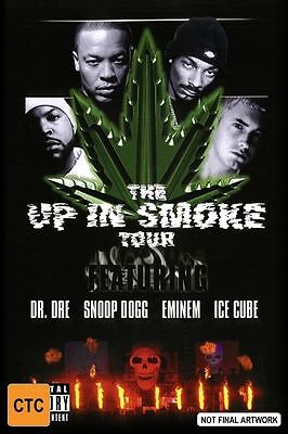 The Up In Smoke Tour (DVD, 2001) All Regions Used in VGC with Free Postage!