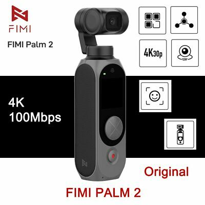 UK FIMI PALM 3-Axis 4K HD GH3 Handheld Gimbal Camera Stabilizer 128° Wide Angle