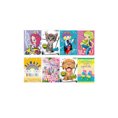 Quaderno Maxi Kid Girl Prima e Seconda Elementare 10 pezzi