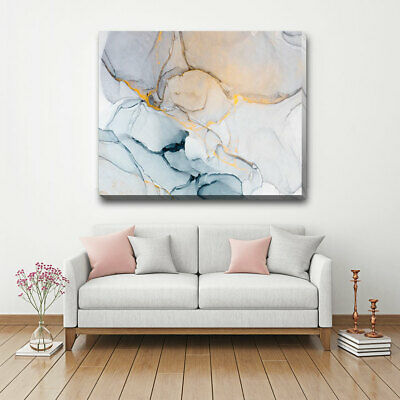 Contemporary Abstract Stretched Canvas Print Framed Wall Decor Art Hanging A391