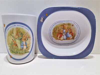 Peter Rabbit Melamine Wares Bowl and Cup