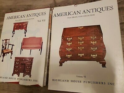 Lot AMERICAN ANTIQUES from Israel Sack Collection volume VII and volume VI