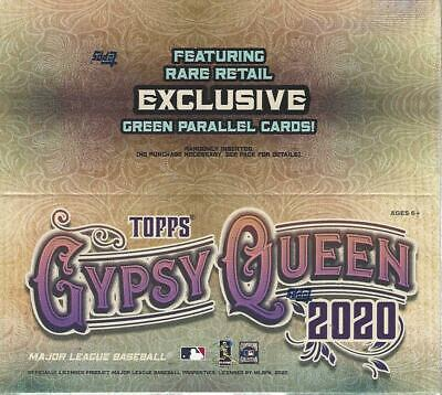 2020 Topps Gypsy Queen MLB Baseball Trading Cards Full, New 24pk  DISPLAY BOX