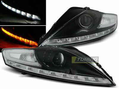 Faros LED DRL Look Ford MONDEO MK4 07-Daylight Indicadores negros LPFO55ET XINO