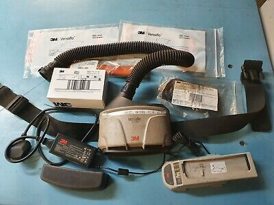 3M Versaflo TR300+ Air Respirator Kit Turbo new TR-3712E Filter battery + spares