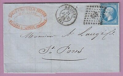 N°22 Pc Du Gc 472 Beziers Herault St Pons Lettre Cover