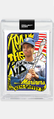 TOPPS PROJECT 2020 CARD 1989 TOPPS MARINERS KEN GRIFFEY JR #6 by KING SALADEEN