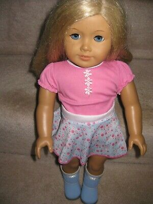 Truly Me Blonde Hair With Blue Eyes American Girl Doll