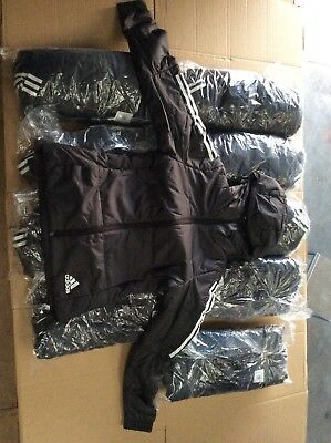 Adidas Down Filled Jackets Job Lot X10 Genuine Garenteed