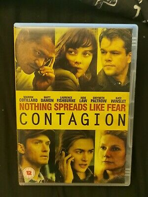 Contagion Matt Damon Jude Law Kate Winslet  Thriller Dvd
